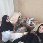 مرکز اهدای خون گلشهر کرج در روزهای تعطیل کرونایی فعال است