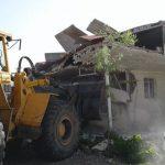 رفع تصرف ۷۵ هزارمتر زمین از اراضی دولت در طالقان